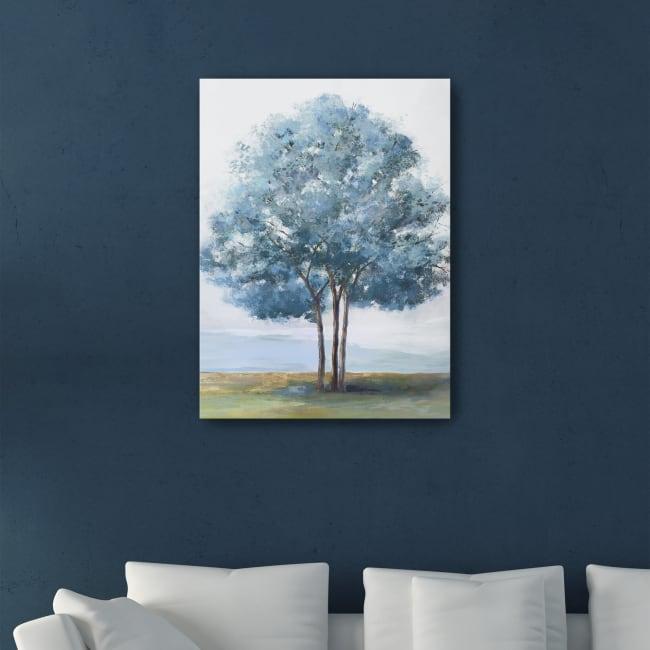 Blue Crown Canvas Giclee
