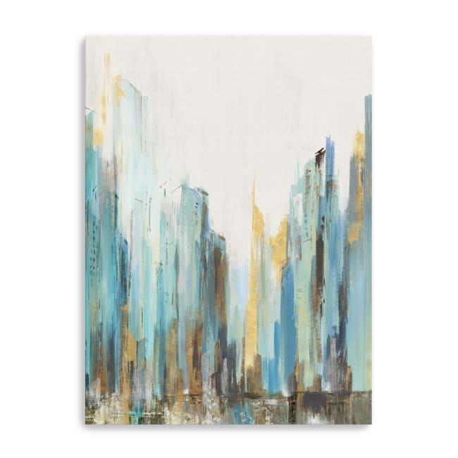 City Rush II Canvas Giclee