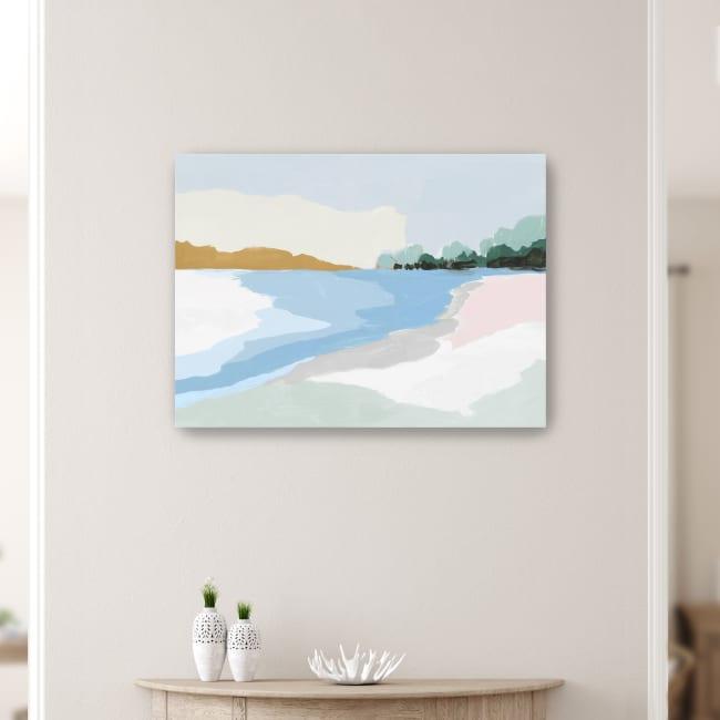 Soft Coastal I Canvas Giclee