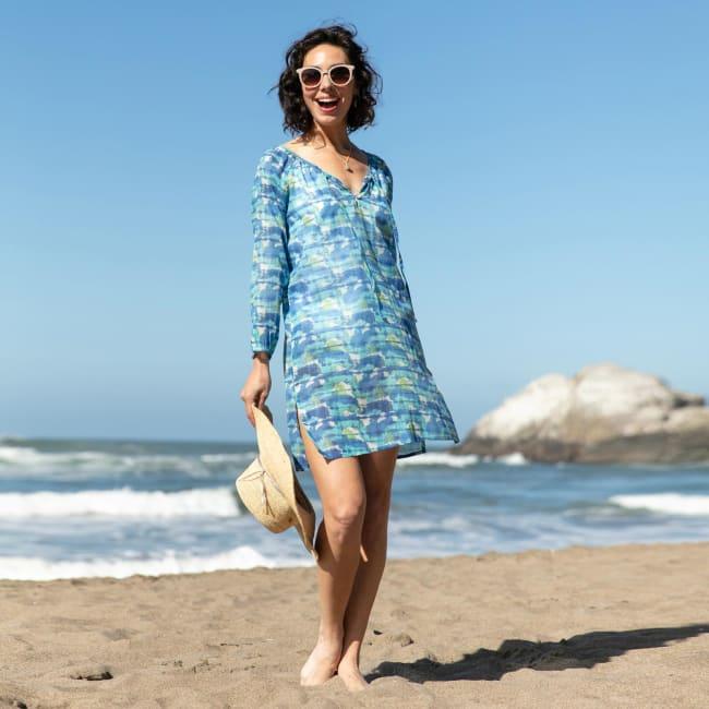 Kai Ocean bluCotton Beach Shift