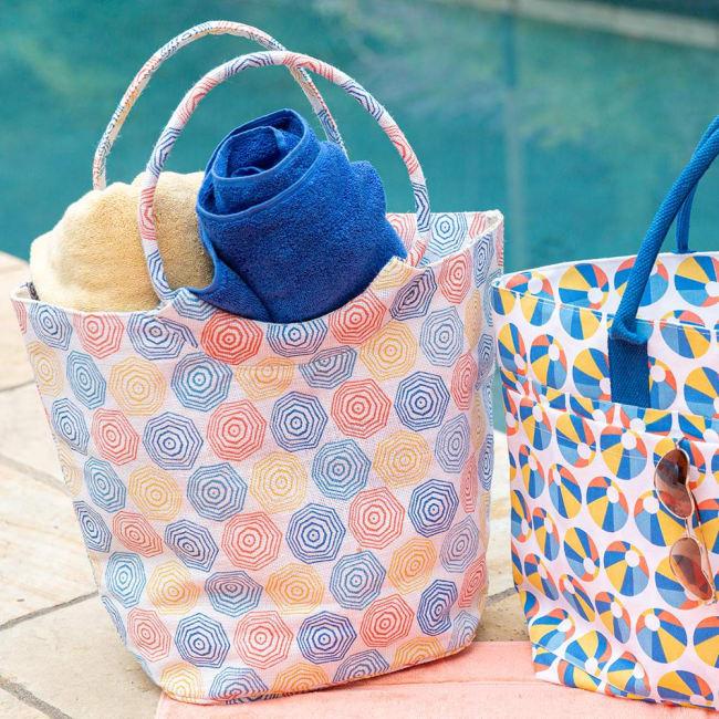 Umbrellas Jute Bucket
