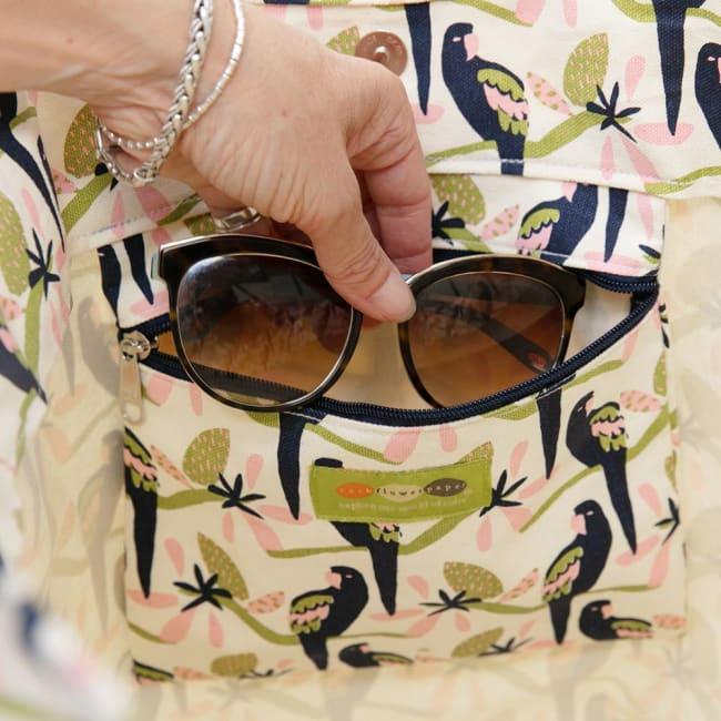 Tropical Parrot Bucket Bag