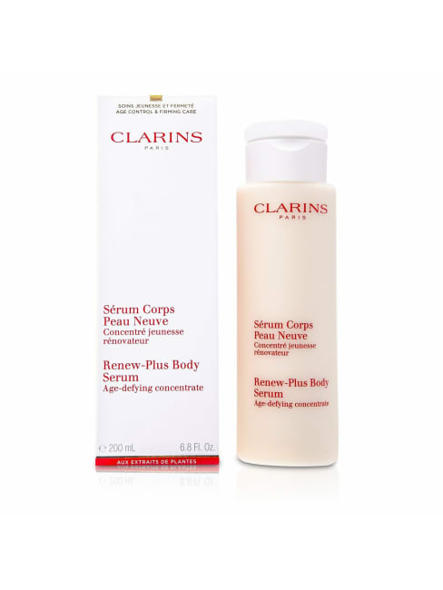 Clarins Women's Renew Plus Body Serum Care Set