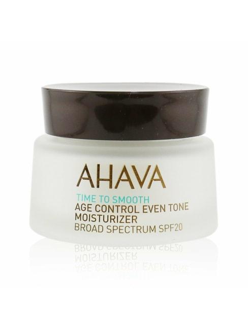 Ahava Men's Time To Smooth Age Control Even Tone Moisturizer Spf 20 Balms &