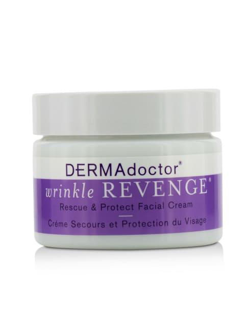 Dermadoctor Men's Wrinkle Revenge Rescue & Protect Facial Cream Balms Moisturizer