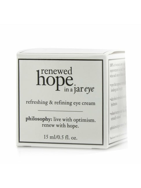 Philosophy Women's Renewed Hope In A Jar Refreshing & Refining Eye Cream Gloss