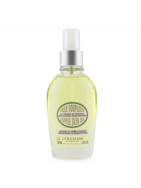 L'occitane Women's Smoothing & Beautifying Almond Supple Skin Oil Body Care Set