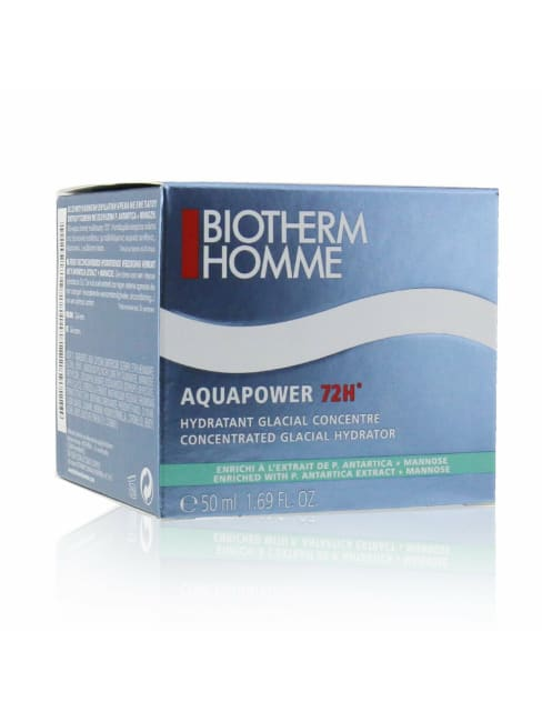 Biotherm Men's Homme Aquapower 72H Concentrated Glacial Hydrator Balms & Moisturizer