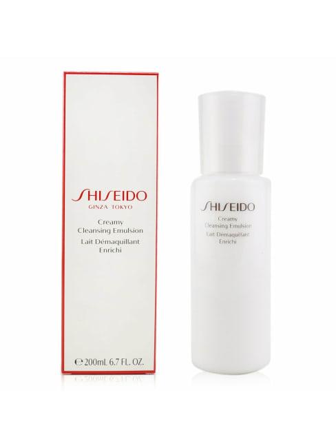 Shiseido Women's Creamy Cleansing Emulsion Face Cleanser