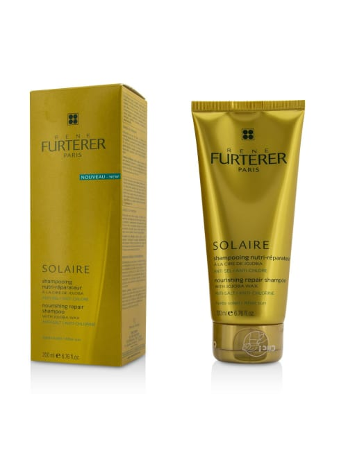 Rene Furterer Women's After Sun Solaire Nourishing Repair Shampoo With Jojoba Wax Hair & Scalp Treatment