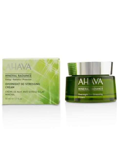 Ahava Men's Mineral Radiance Overnight De-Stressing Cream Balms & Moisturizer