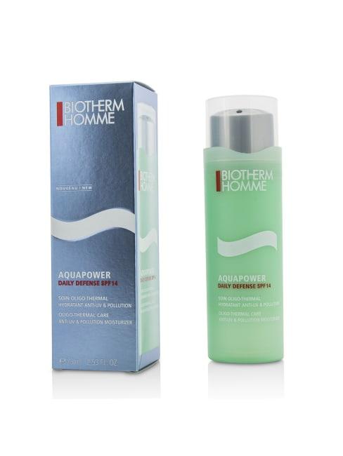 Biotherm Men's Homme Aquapower Daily Defense Spf 14 Balms & Moisturizer
