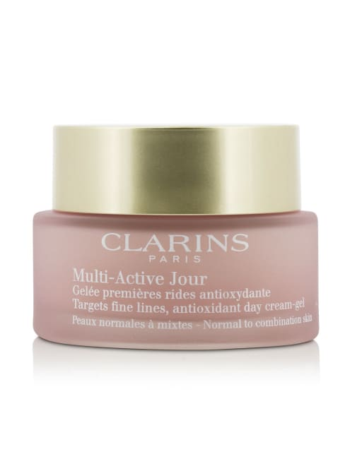 Clarins Men's For Normal To Combination Skin Multi-Active Day Targets Fine Lines Antioxidant Cream-Gel Balms & Moisturizer