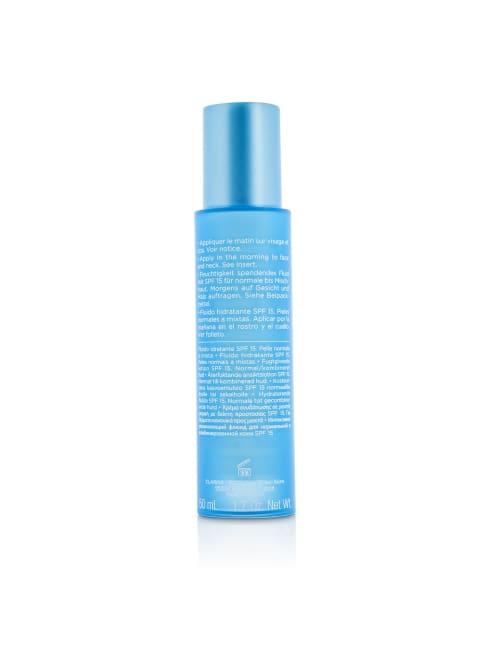 Clarins Men's Normal To Combination Skin Hydra-Essentiel Moisturizes & Quenches Milky Lotion Spf 15 Balms Moisturizer