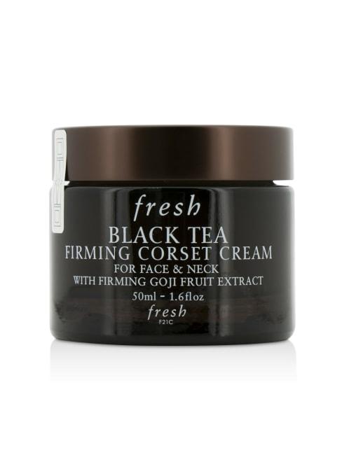 Fresh Men's For Face & Neck Black Tea Firming Corset Cream Balms Moisturizer