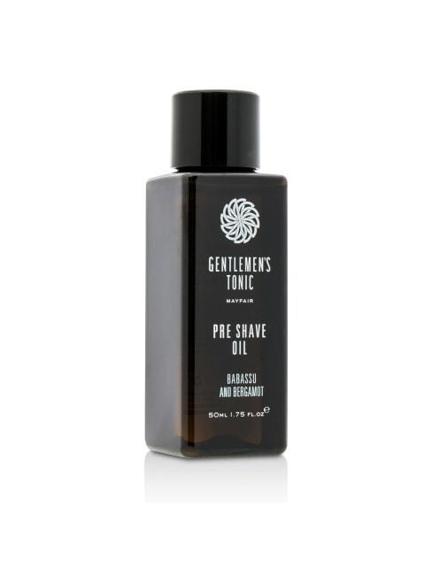 Gentlemen's Tonic Women's Babassu & Bergamot Pre Shave Oil Shaving Cream