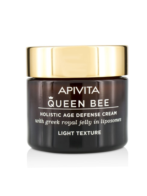 Apivita Men's Queen Bee Holistic Age Defense Cream Light Texture Balms & Moisturizer