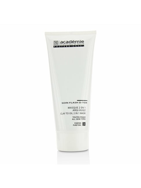 Academie Women's For All Skin Types (Salon Size) Clay To Oil 2 In 1 Mask