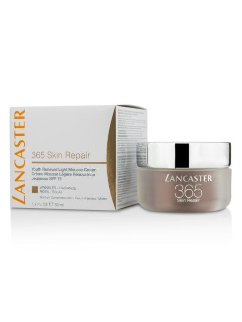 Lancaster Men's Normal / Combination Skin 365 Repair Youth Renewal Light Mousse Cream Spf15 Balms & Moisturizer