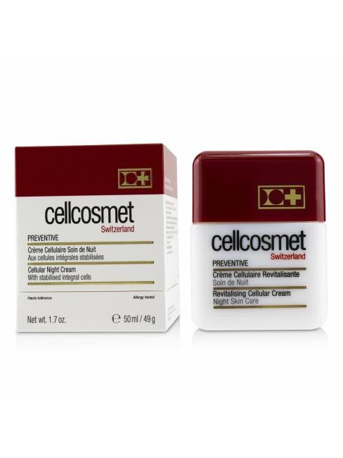 Cellcosmet & Cellmen Men's Preventive Cellular Night Cream Balms Moisturizer