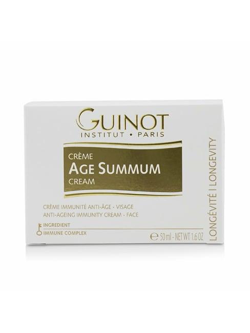 Guinot Men's Creme Age Summum Anti-Ageing Immunity Cream For Face Balms & Moisturizer
