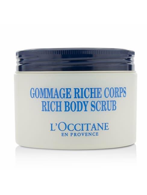L'occitane Women's Shea Butter Rich Body Scrub Care Set