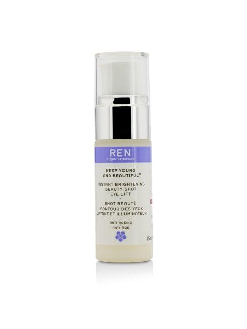 Ren Women's Keep Young And Beautiful Instant Brightening Beauty Shot Eye Lift Gloss