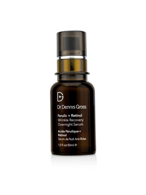 Dr Dennis Gross Women's Ferulic + Retinol Wrinkle Recovery Overnight Serum