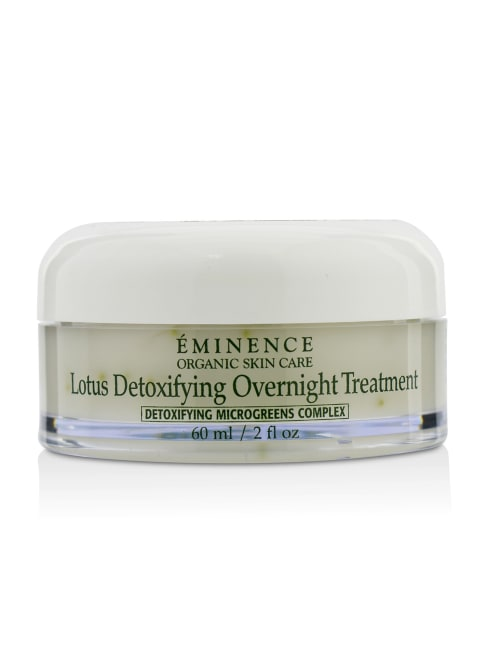 Eminence Men's Lotus Detoxifying Overnight Treatment Balms & Moisturizer