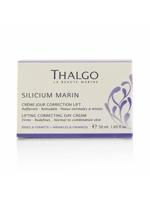 Thalgo Men's Normal To Combination Skin Silicium Marin Lifting Correcting Day Cream Balms & Moisturizer