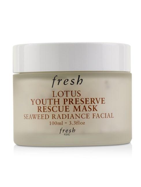 Fresh Women's Lotus Youth Preserve Rescue Mask