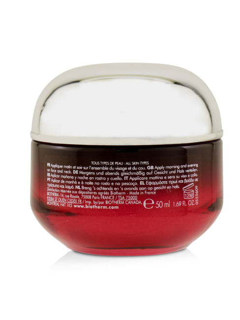 Biotherm Men's All Skin Types Blue Therapy Red Algae Uplift Visible Aging Repair Firming Rosy Cream Balms & Moisturizer