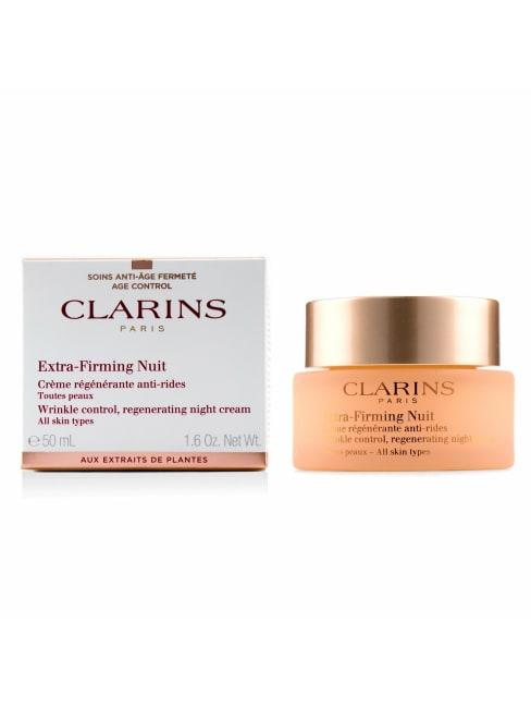 Clarins Men's All Skin Types Extra-Firming Nuit Wrinkle Control, Regenerating Night Cream Balms & Moisturizer