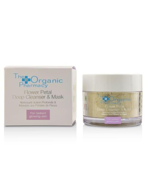 The Organic Pharmacy Women's For Radiant Glowing Skin Flower Petal Deep Cleanser & Mask Exfoliator