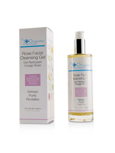 The Organic Pharmacy Women's Rose Facial Cleansing Gel Face Cleanser