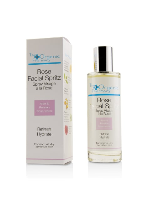 The Organic Pharmacy Women's For Normal, Dry & Sensitive Skin Rose Facial Spritz Face Toner