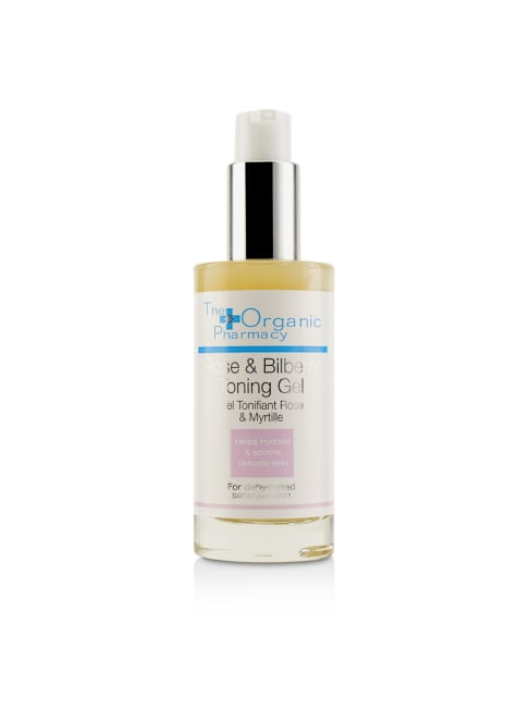 The Organic Pharmacy Women's For Dehydrated Sensitive Skin Rose & Bilberry Toning Gel Face Toner