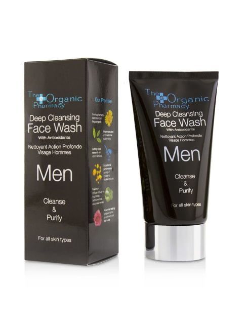 The Organic Pharmacy Men's Cleanse & Purify Men Deep Cleansing Face Wash Cleanser