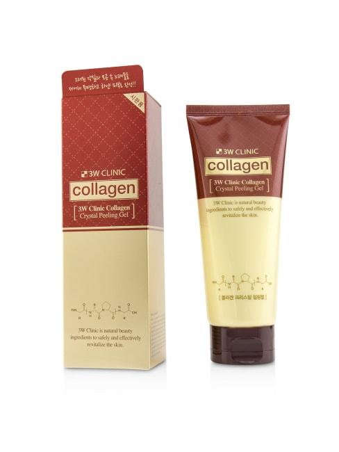 3W Clinic Women's Collagen Crystal Peeling Gel Exfoliator