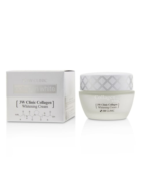 3W Clinic Men's Collagen White Whitening Cream Balms & Moisturizer
