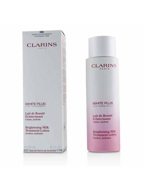 Clarins Men's White Plus Pure Translucency Brightening Milk Treatment Lotion Face Toner