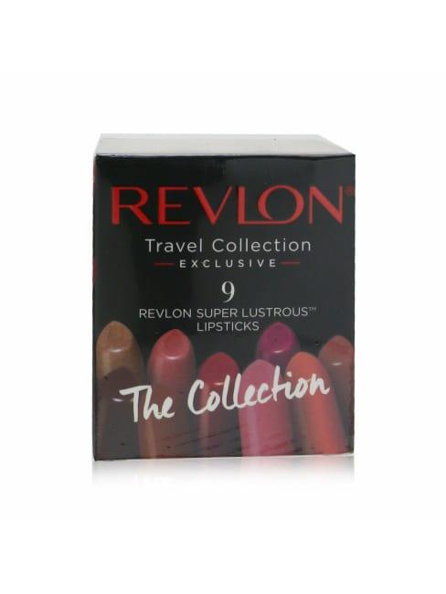 Revlon Women's 9 Super Lustrous Lip Cube Set Lipstick