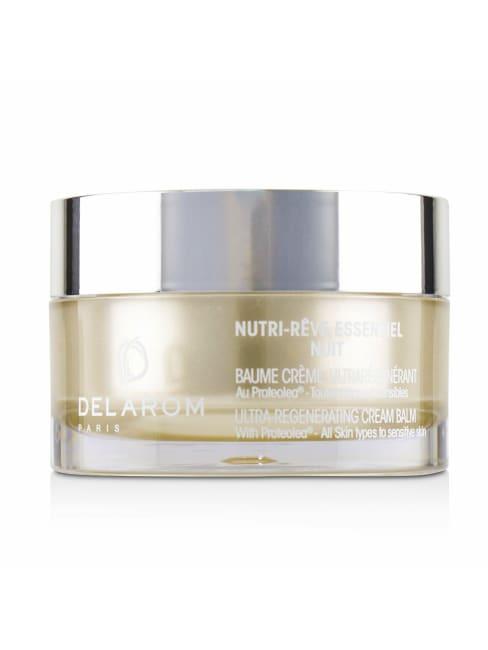 Delarom Men's For All Skin Types To Sensitive Nutri-Reve Essentiel Nuit Ultra-Regenerating Cream Balm Balms & Moisturizer