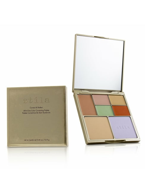 Stila Women's Correct & Perfect All In One Color Correcting Palette Concealer
