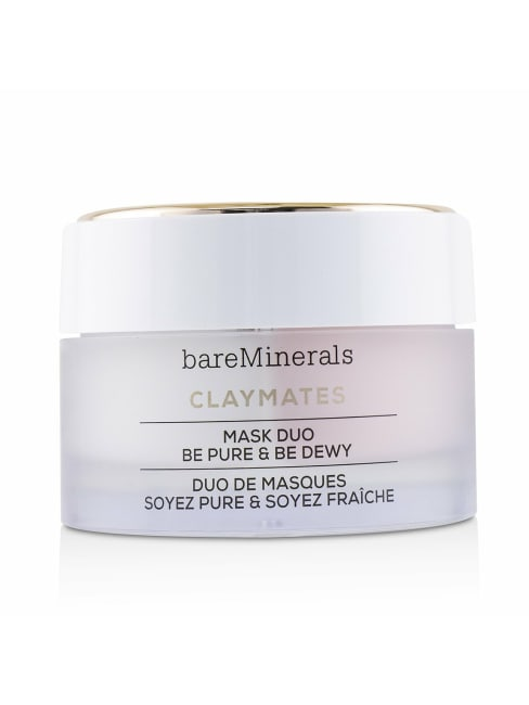 Bareminerals Women's Claymates Be Pure & Dewy Mask Duo