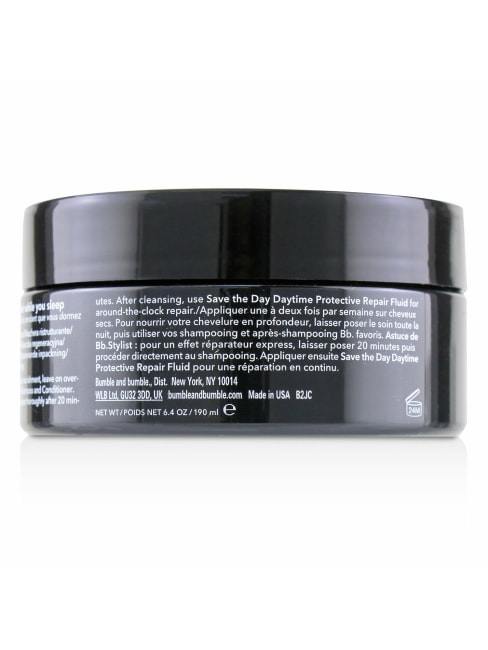 Bumble And Women's Bb. While You Sleep Overnight Damage Repair Masque Hair Mask