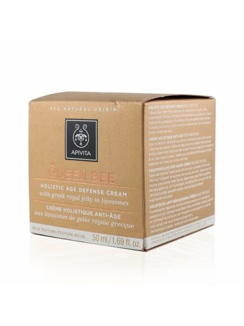Apivita Men's Rich Texture Queen Bee Holistic Age Defense Cream Balms & Moisturizer