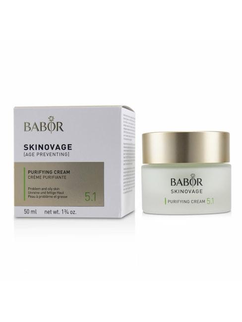 Babor Men's For Problem & Oily Skin Skinovage [Age Preventing] Purifying Cream 5.1 Balms Moisturizer