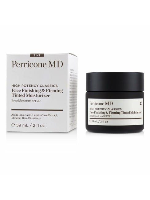 Perricone Md Men's High Potency Classics Face Finishing & Firming Tinted Moisturizer Spf 30 Balms