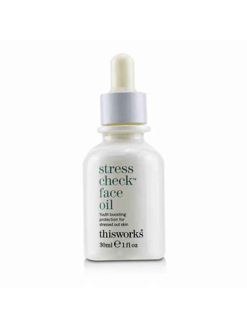 This Works Men's Stress Check Face Oil Balms & Moisturizer